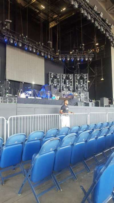 PNC Music Pavilion, section: 3, row: D, seat: 2