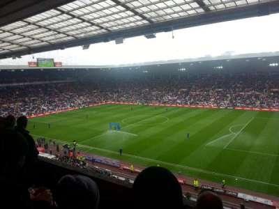stadium of light, section: p8, row: 4, seat: 17