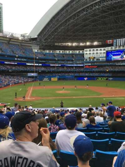 Rogers Centre, section: 118L, row: 33, seat: 107