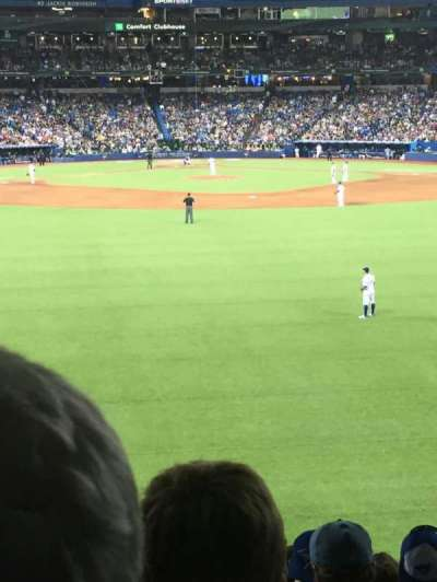 Rogers Centre, section: 101L, row: 8, seat: 108