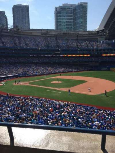 Rogers Centre, section: 216R, row: 2, seat: 10