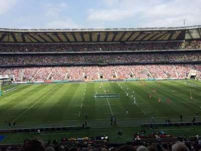 Twickenham Stadium, section: M7, row: 63, seat: 188