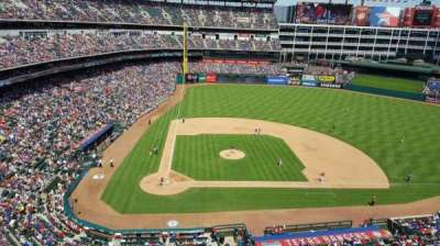 Globe Life Park in Arlington, section: 331, row: 1, seat: 4