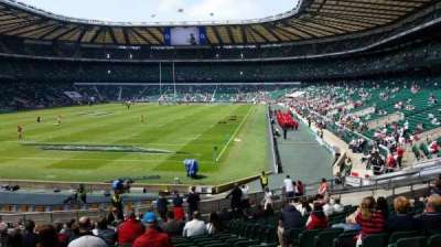 Twickenham Stadium, section: L32, row: 27, seat: 78