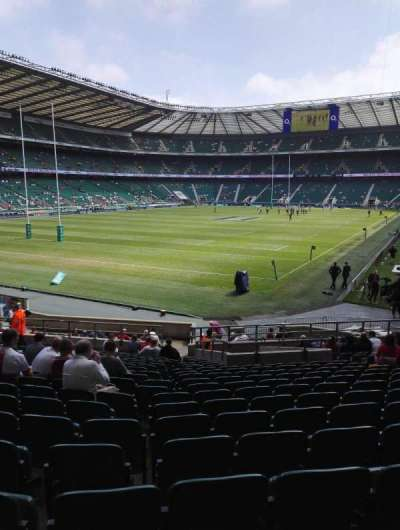 Twickenham Stadium, section: L12, row: 26, seat: 29