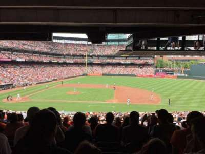 Oriole Park at Camden Yards section 19
