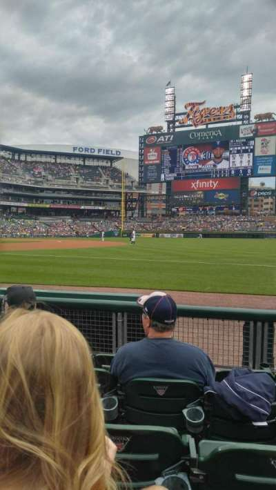 Comerica Park, section: 117, row: 5, seat: 13