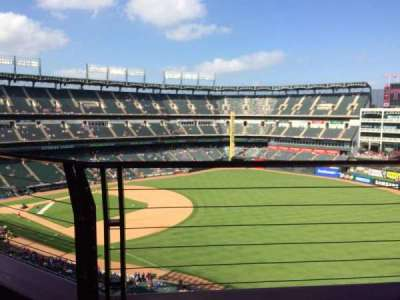 Globe Life Park in Arlington section 340