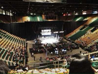 EagleBank Arena section 110