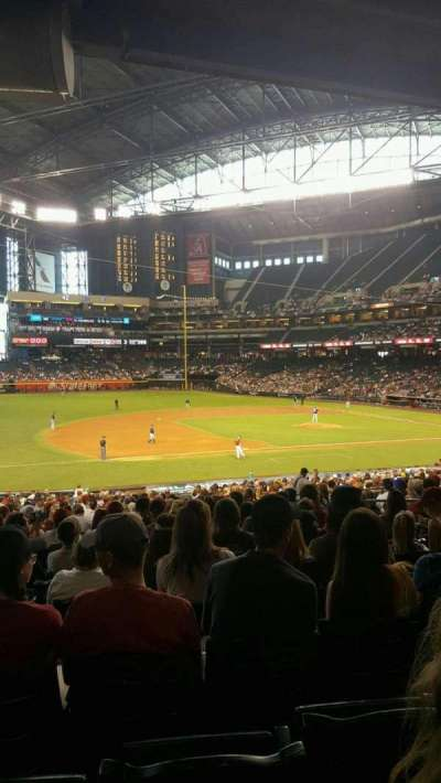Chase Field, section: 130, row: 36, seat: 7