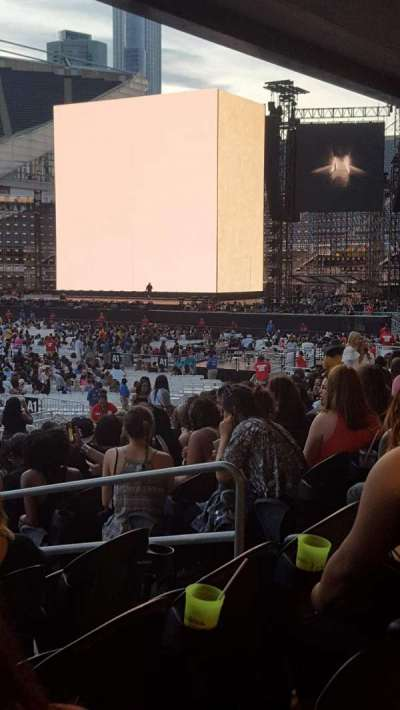 Soldier Field, section: 112, row: 15, seat: 13