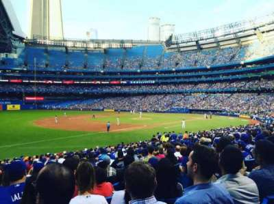 Rogers Centre, section: 130AR, row: 26, seat: 6