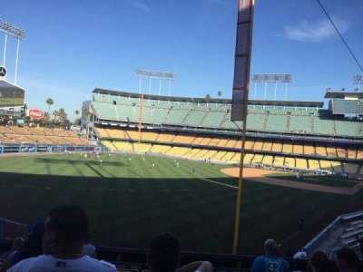 Dodger Stadium, section: 165LG, row: H, seat: 1