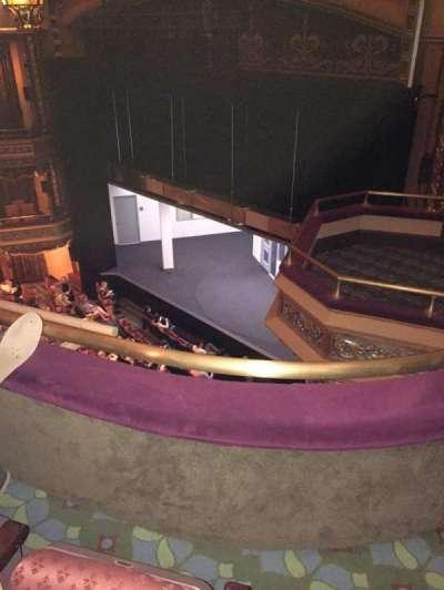 Belasco Theatre, section: Balcony, row: B, seat: 26
