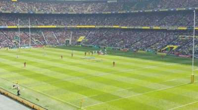 Twickenham Stadium, section: M26, row: 55, seat: 34