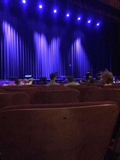 Chicago Theatre, section: MNFL3L, row: KK, seat: 313