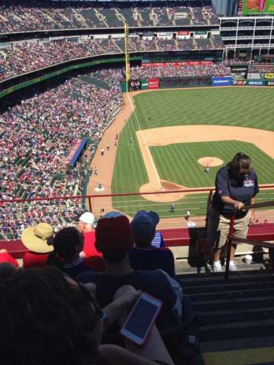 Globe Life Park in Arlington, section: 329, row: 5, seat: 18