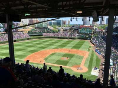Wrigley Field, section: 517, row: 9, seat: 101