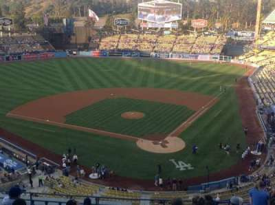 Dodger Stadium, section: 5RS, row: M, seat: 12