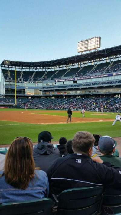U.S. Cellular Field, section: 144, row: 5, seat: 6