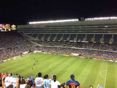 Soldier Field, section: 434, row: 14, seat: 19