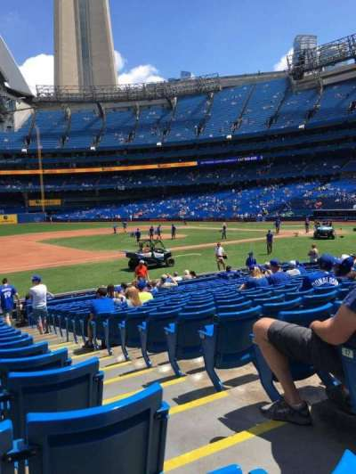 Rogers Centre, section: 128L, row: 19, seat: 102