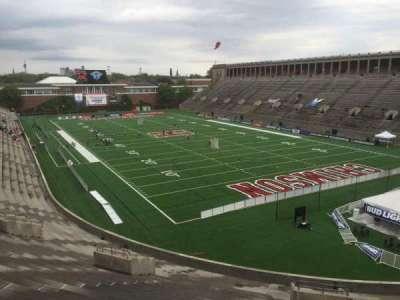 Harvard Stadium, section: 23, row: NN, seat: 4