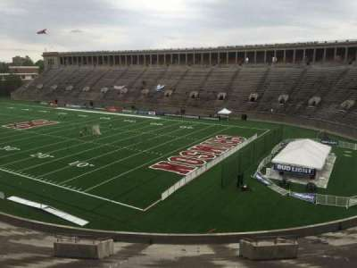 Harvard Stadium, section: 23, row: NN, seat: 12