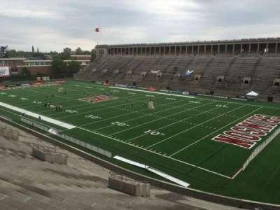 Harvard Stadium, section: 25, row: NN, seat: 8