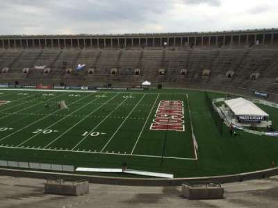 Harvard Stadium, section: 26, row: OO, seat: 10