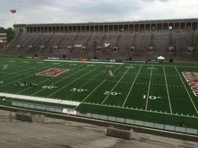 Harvard Stadium, section: 27, row: OO, seat: 16