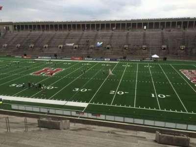 Harvard Stadium, section: 28, row: MM, seat: 6