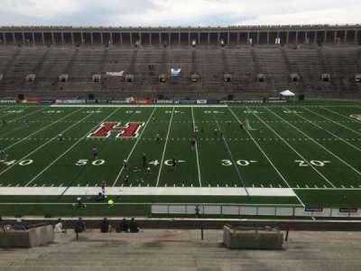 Harvard Stadium, section: 30, row: LL, seat: 6
