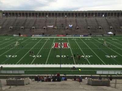 Harvard Stadium, section: 31, row: LL, seat: 10