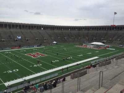 Harvard Stadium, section: 34, row: KK, seat: 10