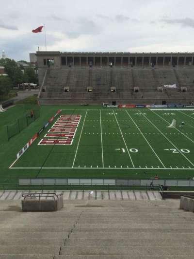 Harvard Stadium, section: 35, row: MM, seat: 14