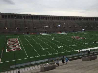 Harvard Stadium, section: 36, row: MM, seat: 12