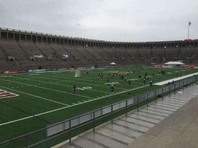 Harvard Stadium, section: 37, row: D, seat: 6
