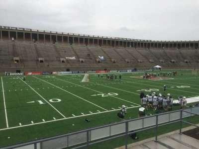 Harvard Stadium, section: 35, row: C, seat: 14
