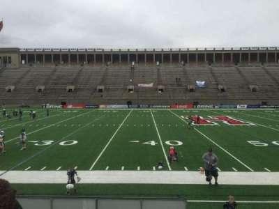 Harvard Stadium, section: 32, row: O, seat: 12
