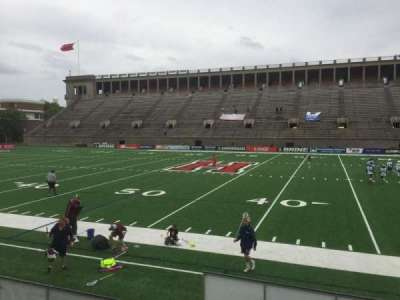 Harvard Stadium, section: 30, row: O, seat: 6