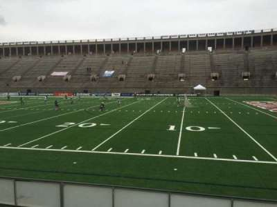 Harvard Stadium, section: 27, row: M, seat: 18