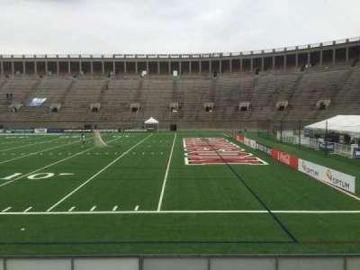 Harvard Stadium, section: 26, row: N, seat: 14