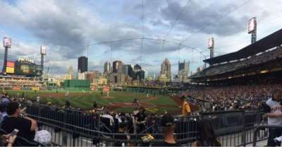 PNC Park, section: 119, row: C, seat: 2