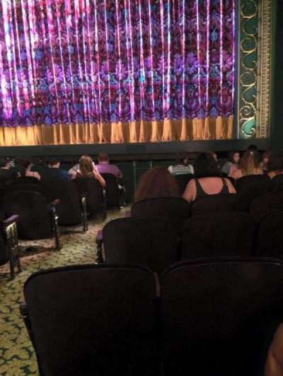 Lunt-Fontanne Theatre, section: Orchestra, row: J, seat: 4