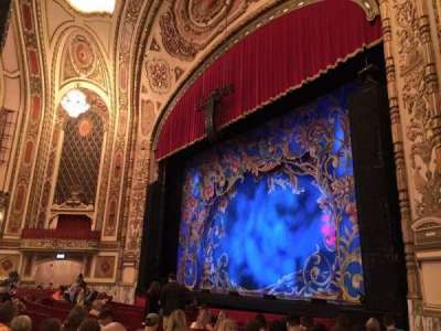 Cadillac Palace Theater, section: ORCHFR, row: M, seat: 38