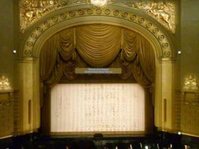 War Memorial Opera House section Grand Tier