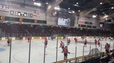 TD Place Arena, section: 23, row: G, seat: 1