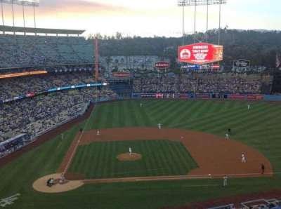 Dodger Stadium, section: 10RS, row: J, seat: 8