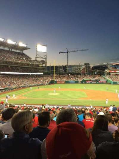 Nationals Park, section: 129, row: RR, seat: 10